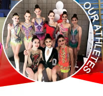 Rhythmic Academy Athletes